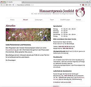 Homepage Dr. Gschwend 2106